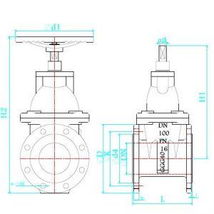 Drawing git 100 dwg-Model